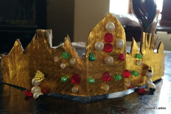 krishna crown krishna costume accessories