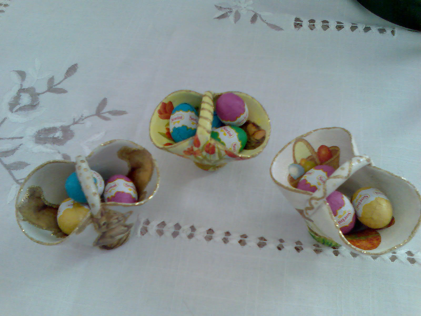 Alicehobby decoupage pasqua 2011 idee regalo for Regalo oggetti usati