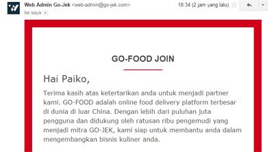 Cara Daftar Go Food Secara Online Wavker Blog