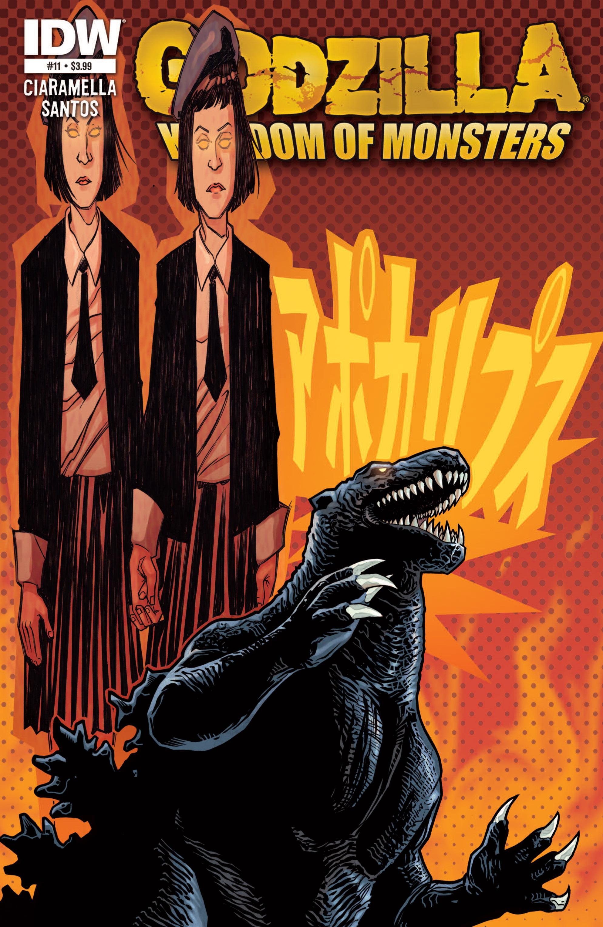 Godzilla: Kingdom of Monsters 11 Page 1