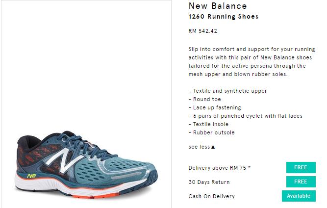 kasut sukan new balance murah online