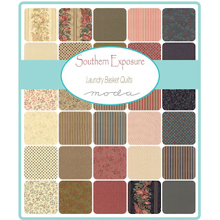 Moda Southern Exposure Prints Fabric by Laundry Basket Quilts for Moda Fabrics