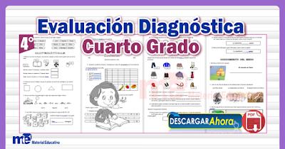 Evaluación Diagnóstica Cuarto Grado Primaria