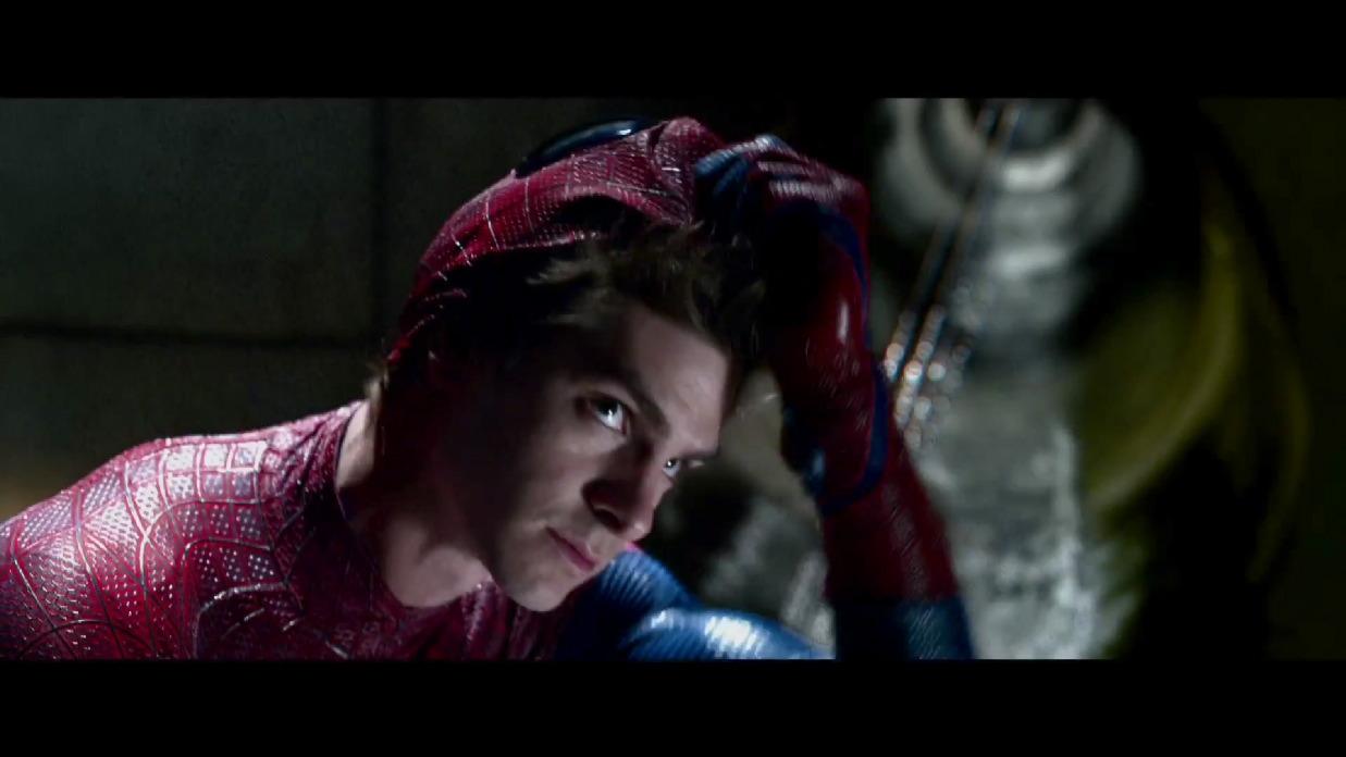 Geek Bits: The Amazing Spider-Man Screencaps, She Don't Like