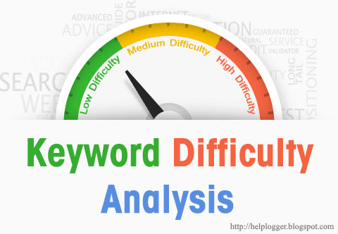 keyword difficulty analysis