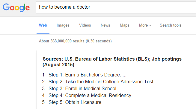 how-to-become-a-doctor-google-results