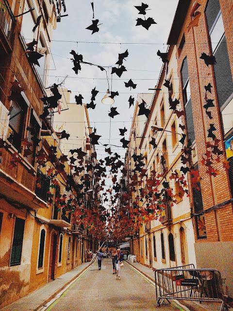 Barceloneta'da arka sokaklar