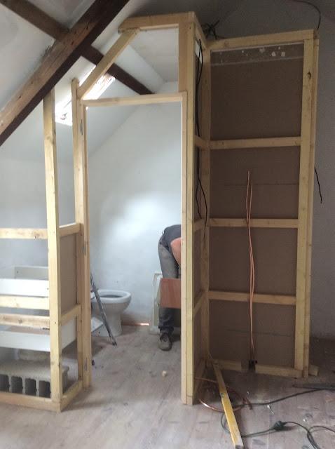 Renovation project - installing a new bathroom