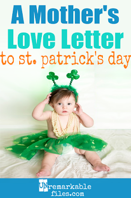 Moms work overtime making the holidays magical, but we all know St. Patrick's Day is the best because it requires us to do NOTHING. Check out this hilarious love letter to every exhausted mom's favorite holiday! #stpatricksday #momlife