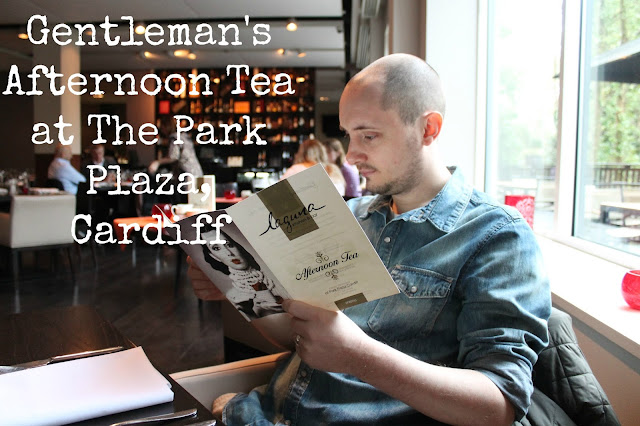review of the gentleman's afternoon tea at the park plaza in cardiff