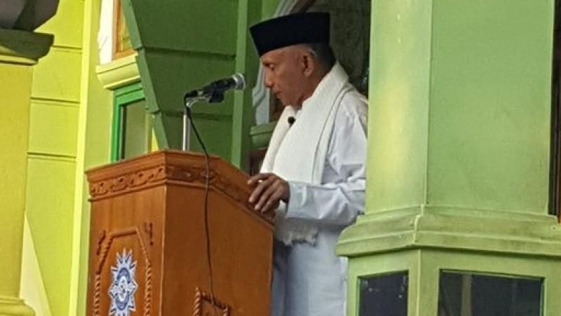 Amien Rais khotbah Salat Idul Adha di Rumah Sakit Islam Sukapura, Jakut