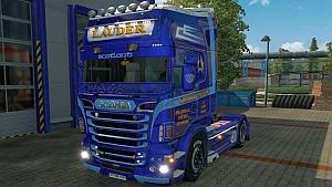 Metallic Charlie Lauder Scania RJL