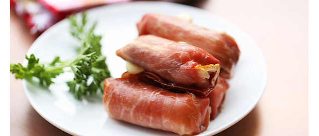 IMAGE, IMG, IG Prosciutto-Wrapped Mozzarella