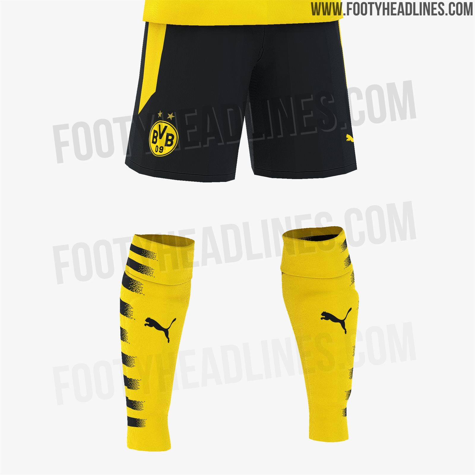 Kit Borussia Dortmund 2020 21 Eumondo
