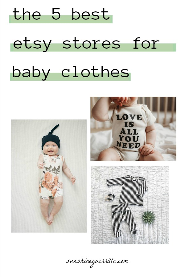 9729a11b0c64 The Five Best Etsy Stores for Baby Clothes - Sunshine Guerrilla