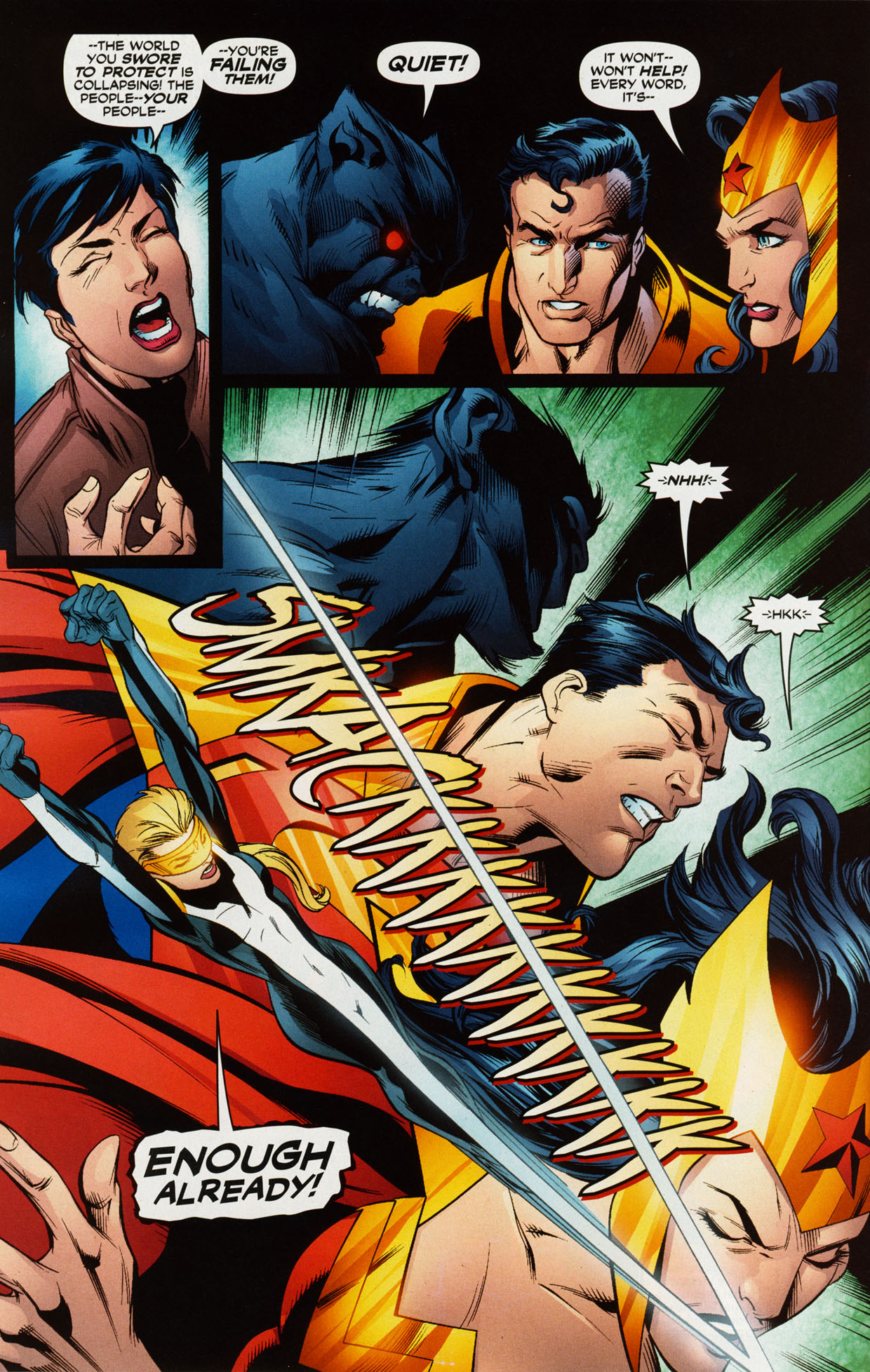 Read online Trinity (2008) comic -  Issue #38 - 13