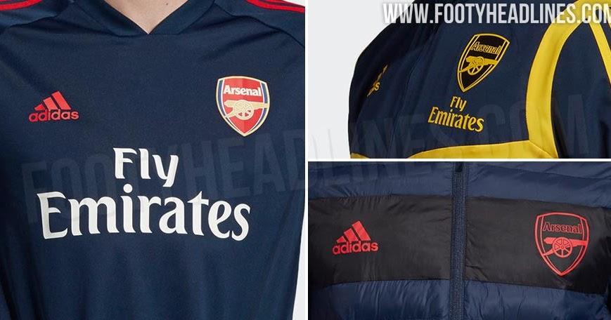 More Adidas X Arsenal 19 20 Items Leaked Footy Headlines