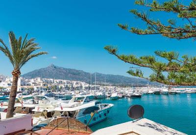 Puerto Banus Marbella Spain Costa del Sol vacation holiday