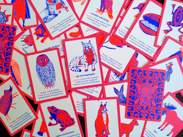 Przykładowe karty z talii