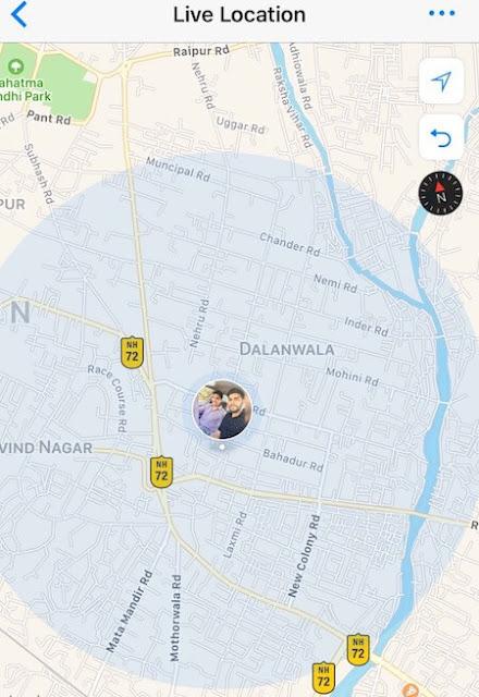 Begini Nih Cara Berbagi Lokasi Live di WhatsApp Dari iPhone dan Android 4
