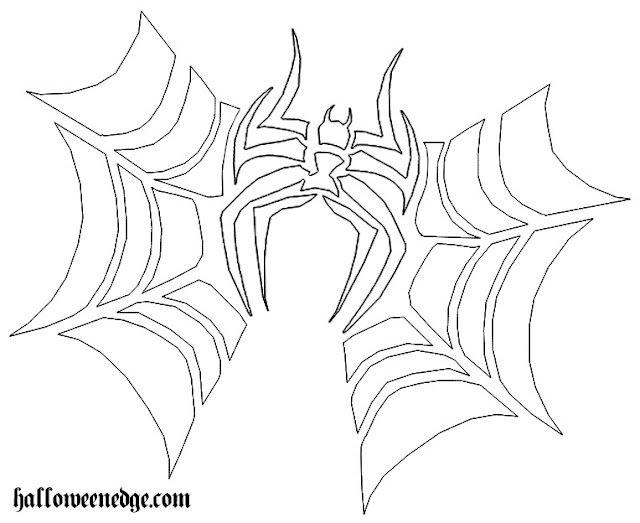 Download spider pumpkin outline pdf png clipart graphic pics