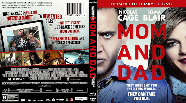 Mom And Dad Bluray Cover