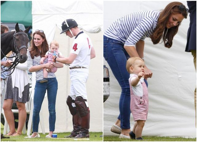 Prince George took his first steps on Fathers' Day with Catherine Middleton and Prince William