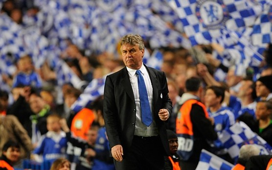 Guus Hiddink pelatih chelsea