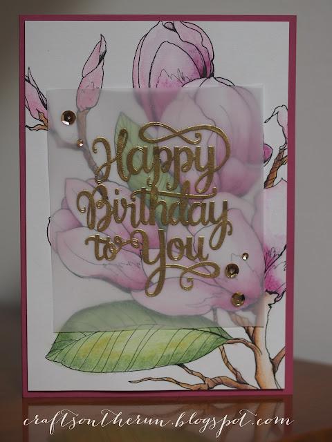 mama elephant, watercolor birthday card,