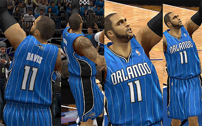 NBA 2K13 Orlando Magic Away Jersey