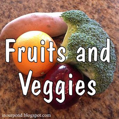 FREE 3-Part Cards for Safari Ltd Fruits and Veggies Toob