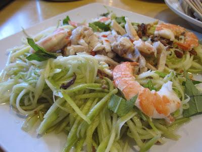 Long Phung, mango salad