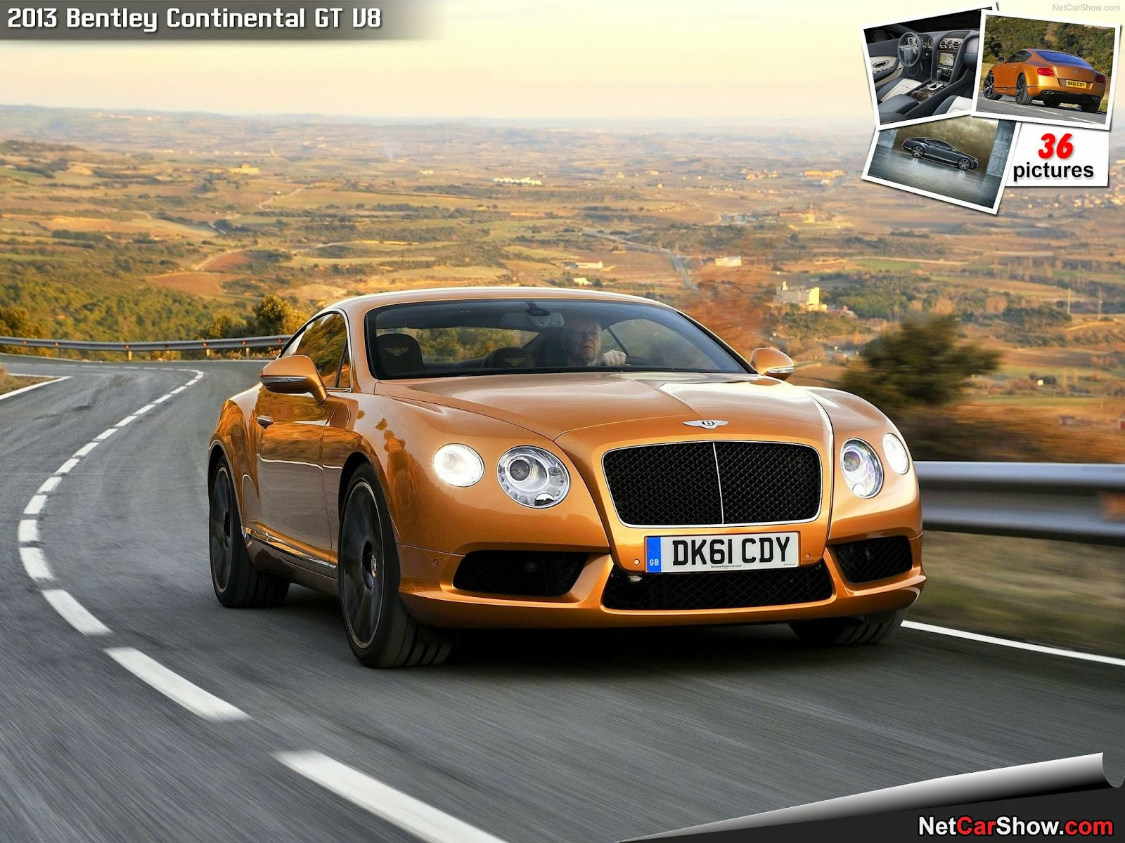 bentley continental gth photos speed acceleration. Black Bedroom Furniture Sets. Home Design Ideas