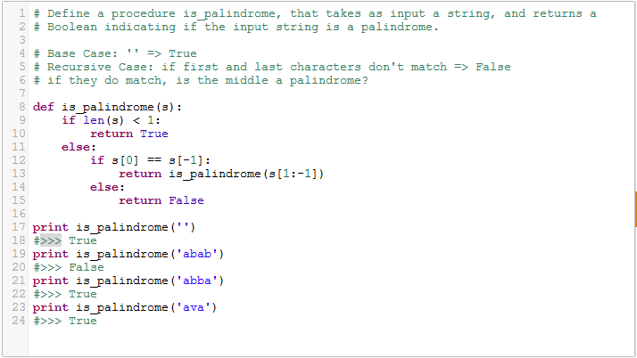 Check if string is a palindrome in Python | Python Basics