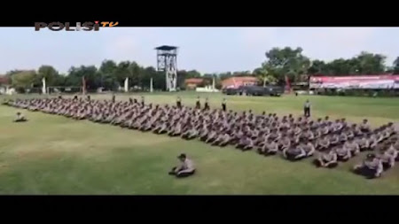 Frekuensi siaran Polisi TV di satelit Palapa D Terbaru