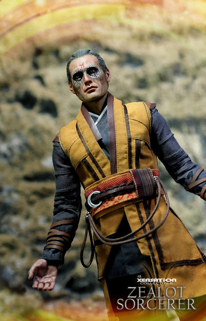 osw.zone Xensation Collectibles 1 / 6th Zealot Wizard 12 inch figure aka Mads Mikkelsen as Kaecilius
