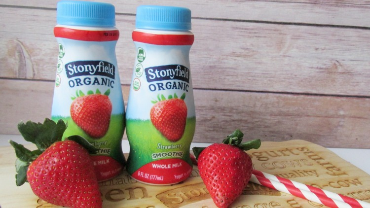 Organic Whole Milk Smoothies form Stonyfield