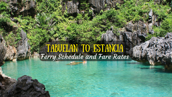 Tabuelan to Estancia Ferry Schedule