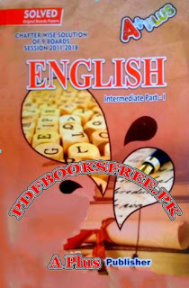 English Past Papers Solved 1st Year 2011 To 2018 All Punjab Boards Pdf Free Download