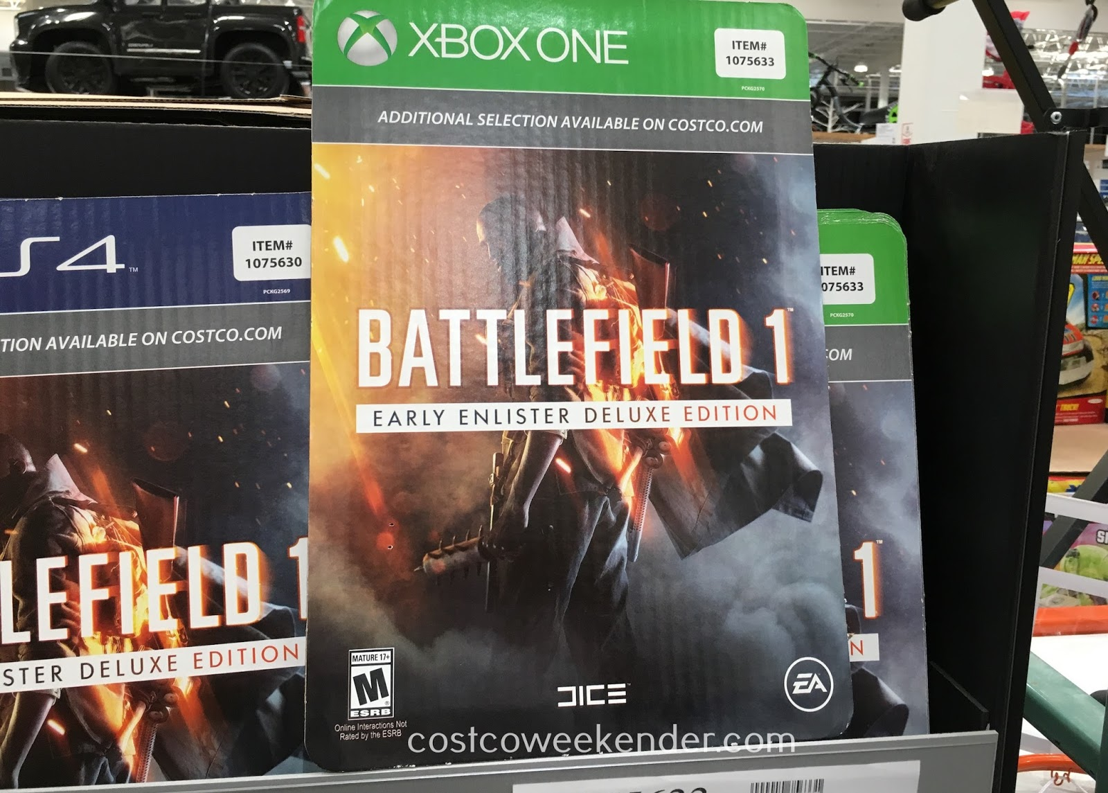 Experience the war to end all wars in Battlefield 1