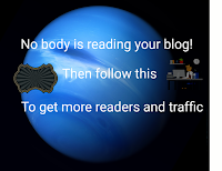 Nobody is reading my Blog! Follow this best simple ways to get more traffic and readers.