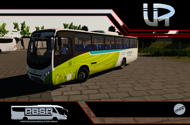 Skin Proton Bus Simulator Road - Ideale 770 OF-1721 BT5 Viação Costa Verde