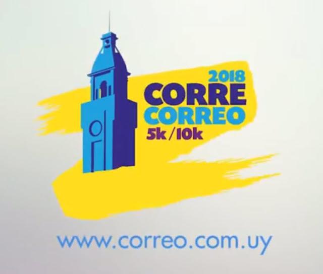 10k y 5k Corre Correo (Rambla de Montevideo, 22/sep/2018)
