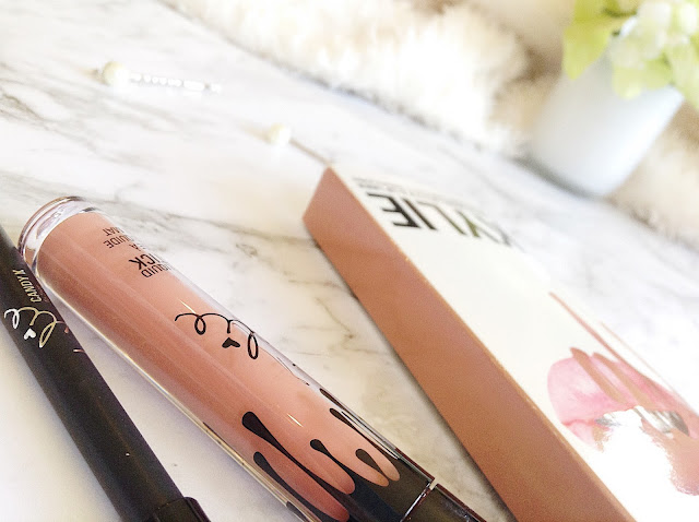 Kylie Cosmetics Candy K Lip Kit Review angle