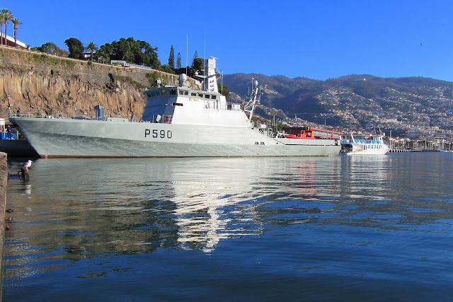 the oceanic patrol vessel Tejo