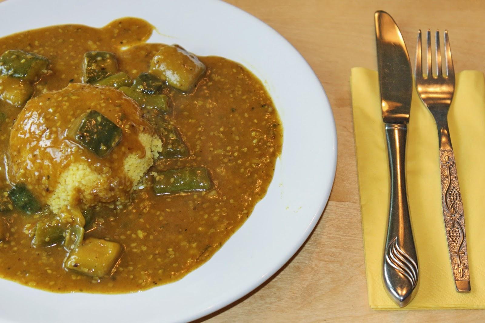 schnelle gerichte afrikanische couscous gem sepfanne gebi. Black Bedroom Furniture Sets. Home Design Ideas