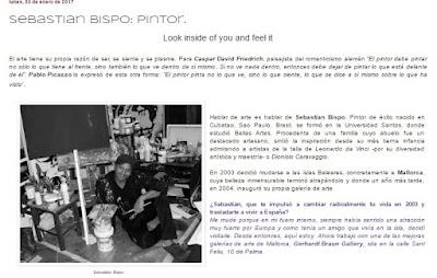 "ENTREVISTA a Sebastian Bispo ""Pintor"" by Melanie Belmonte"