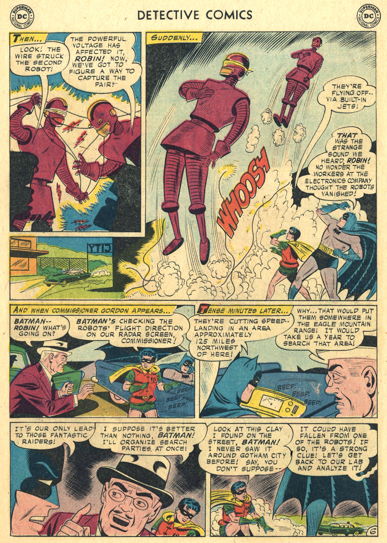 Read online Detective Comics (1937) comic -  Issue #258 - 8