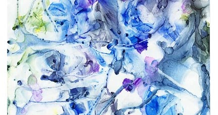 Lazarus Rising ? an alcohol ink painting tutorial