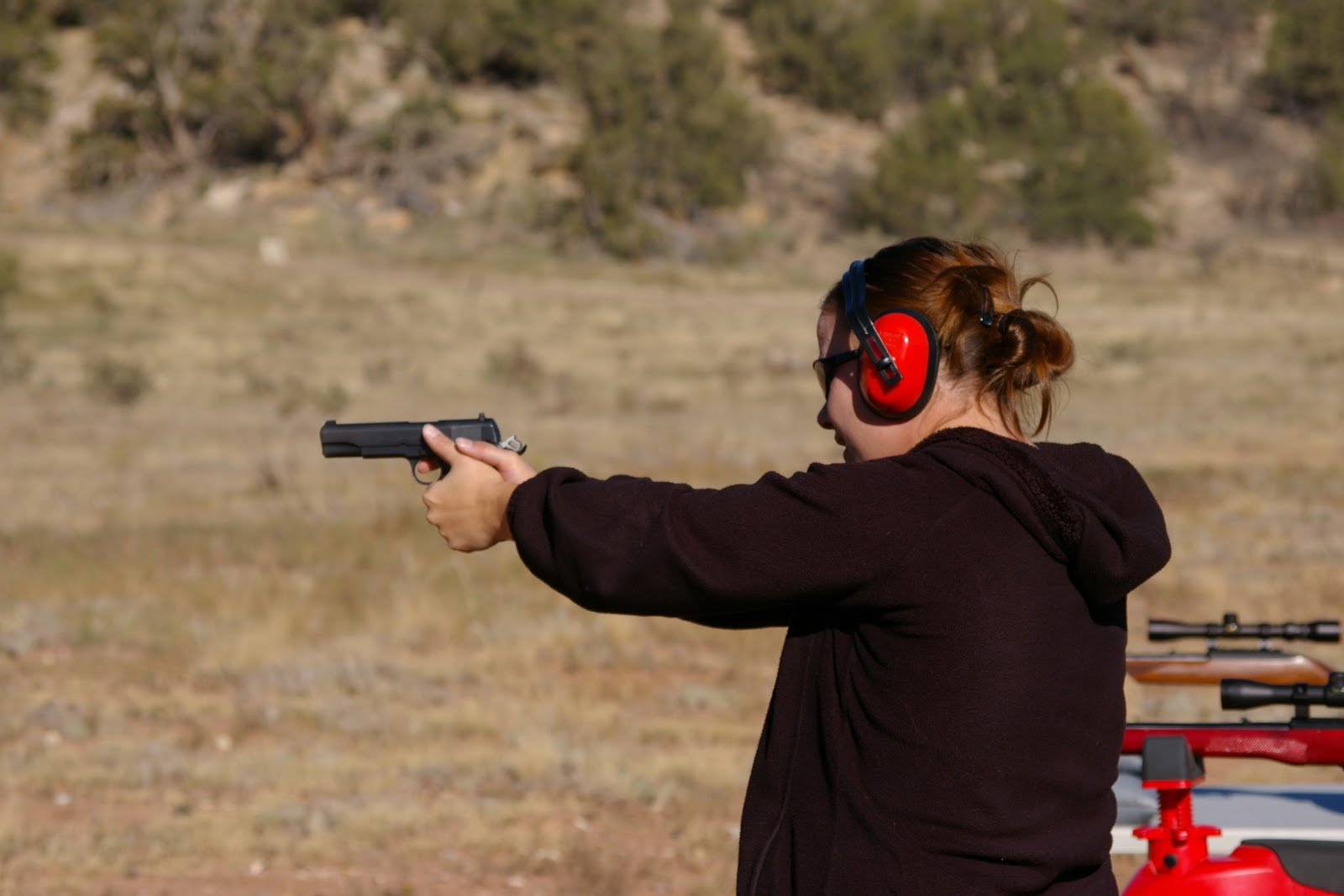 Girls In The Outdoors: New Targets & A New Shooter
